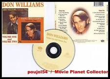 """DON WILLIAMS """"Volume One + Volume Two"""" (CD) 1997"""