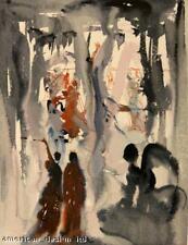 Salvador Dali Divine Comedy PARADISE Canto 13 Woodblock Art Authentic Artwork