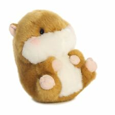 AURORA WORLD ROLLY PETS 15CM FROLIC HAMSTER SOFT TOY NEW PLUSH