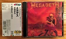 Megadeth - Peace Sells... But Who's Buying (Original Japan CD w/ OBI) TOCP-3027