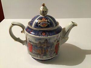 James Sadler Teapot Made in England Thameside London Heritage Collection