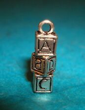 Pendant Toy Blocks Charm Alphabet Blocks Toys Charm Baby Charm New Mom Charm