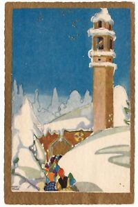 BENTIVOGLIO  Buon Anno Bonne Annee Paesaggio Winter Neve Buon Natale