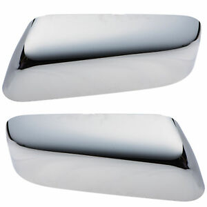 OEM NEW Front Right Left Mirror Cover Cap Chrome Set (2) 2009-2014 Ford F-150
