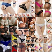 Women's Lace Thongs G-string V-string Panties Knickers Lady Lingerie Underwear