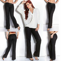 Sexy Women Office Wear Trouser Ladies Black Jeans Business Pant Size 8 10 12 S M