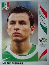 PANINI 248 Mario Mendez MESSICO fifa world cup 2006 GERMANY