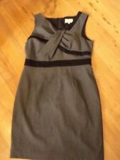 veronika maine grey black  dress 16
