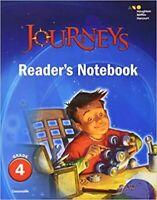 Grade 4 Journeys Readers Notebook Teachers Guide 2017 Edition 4th