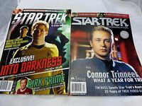 Star Trek  Magazine  lot of 2 william shatner