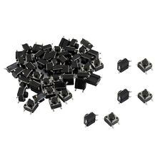 50Pcs 6x6x5mm 4 Pins SMD SMT Momentary Push Button Tact Tactile Switches