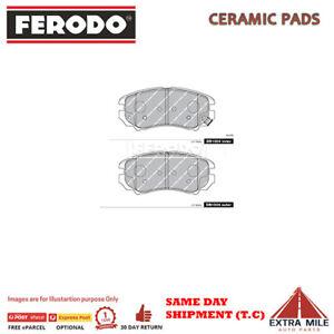 FERODO TQ BRAKE PADS FRONT FOR HYUNDAI TIBURON GK I 2002-2007 2.7L V6 DB1504FTQ