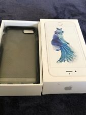 Apple iPhone 6s Plus Empty Box Plus Black Case