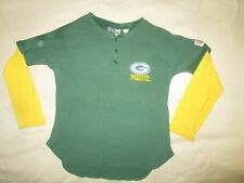 NFL,GREENBAY,PACKERS,CHILDS MED  PULLOVER THERMAL LONG SLEEVE SHIRT FOOTBALL,NFL