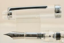 268 Clear Glass Demonstrator Vacumatic Round Extra Fine Fountain Pen PenBBS No