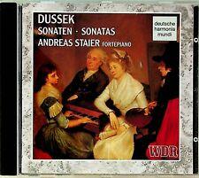 Dussek: Piano Sonatas Vol 1 - Andreas Staier (fortepiano) CD 1993