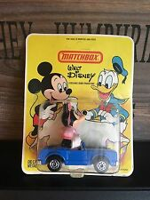 Matchbox Walt Disney Series WD-4A1 Rare Version mint OVP never opened from 1979