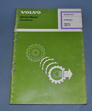 1982 Volvo 760 GLE B 28 Engine Reconditioning Service Shop OEM Repair Manual