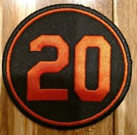 2019 Frank Robinson Memorial Jersey Patch - Baltimore Orioles