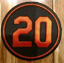 2019 Frank Robinson Memorial Jersey Patch - Baltimore Orioles