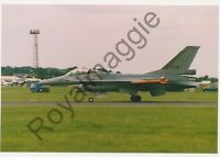 Colour print of Netherlands Air Force F16A J204 at RAF Fairford in 1998