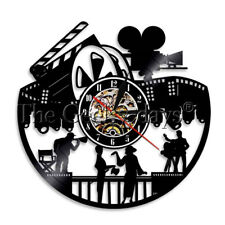 Filming Action Time Vinyl Record Wall Clock Movie Director Wall Clock Actor Gift