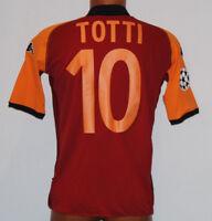 Maglia Roma Totti 2002 2003 Uefa Champions League Jersey NEW kappa away mazda