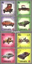 Yémen (Royaume-Uni) 1180A-1183A oblitéré 1970 Voitures