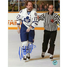 Wendel Clark Captain Crunch Toronto Maple Leafs Signed 8×10 Photo