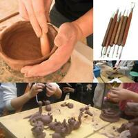 Clay Sculpting Set Wax Carving Pottery Tools Polymer Modeling CO