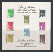 France 2004 Marianne Definitives in Euros Minisheets, MNH