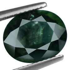 Excellent Cut Oval Green Loose Sapphires