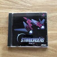 Starborders - Playstation 1 PS1 - Japan JPN - Complete Retro