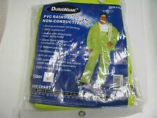 NEW!! DURAWEAR PVC RAINSUIT SIZE LARGE ITEM#1260