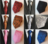 Classic Woven Paisley Jacquard Silk Tie Wedding Event Gift UK