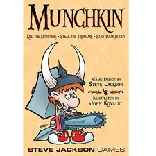 Munchkin Card Game: Kill the Monsters Steal the Treasure Stab your Buddy SJG1408