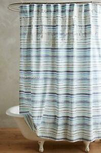NEW Anthropologie Low Tide Shower Curtain