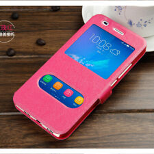 For Samsung Galaxy All Serise Flip PU Leather Wallet View Window Case Cover