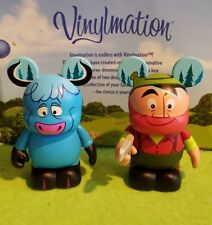 "Disney Vinylmation 3"" Park Set 1 D23 Paul Bunyon and Blue Ox"