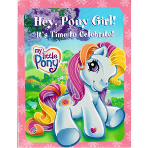 MY LITTLE PONY INVITATIONS & THANK YOU NOTES (8ct ea.) ~ Birthday Party Supplies