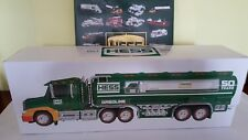HESS  TOY TRUCK &  BOOK  50TH ANNIVERSARY  2014   NEVER OPEN  .....*NEW*