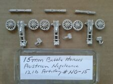 15mm Battle Honors Austrian Napoleonic  12lb Artillery