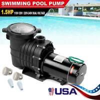 1.5/1HP In/Above Ground Swimming Pool Pump Motor w/Strainer Generic Hayward USA