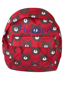 Personalised Children's Kids Back To School Nursery Mini Backpack Rucksack Bag