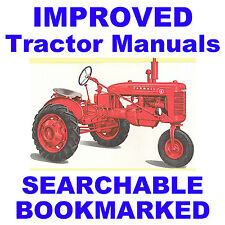 IH FARMALL B, BN SERVICE MANUAL & PARTS Catalog -2- Tractor MANUALS - SEARCHABLE