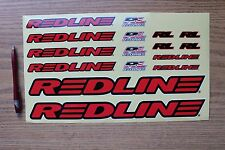 Redline Complete Decal Set Red Sticker Set BMX Bike Mountain Bicycle New 36622
