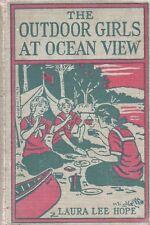 OUTDOOR GIRLS AT OCEAN VIEW By LAURA LEE HOPE Grosset Dunlap HC 1915