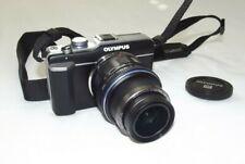 Olympus PEN E-PL1 12.3MP Digitalkamera - Schwarz (Kit mit 14-42 mm und 40-150...