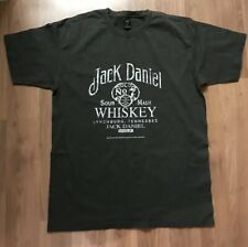 Jack Daniels Old No.7 t shirt - Distressed Look print - Size M Medium -