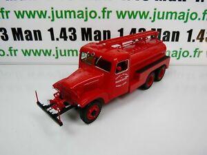 CP44D POMPIERS 1/43 altaya IXO Camion citerne d'incendie Tubincendie GMC Pompe